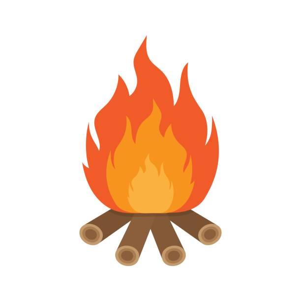 Clipart bonfire svg transparent Bonfire clipart wood burning pencil and in color bonfire – Gclipart.com svg transparent
