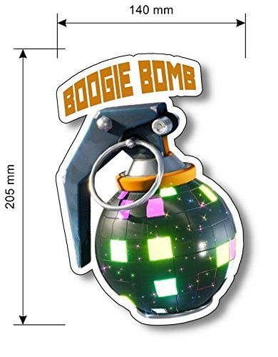 Clipart boogie bomb fortnite image royalty free download FortNite BOOGIE BOMB VINYL Sticker Gift Idea | Bedroom in 2019 ... image royalty free download
