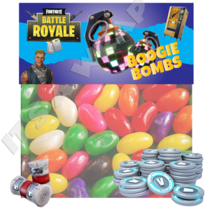 Clipart boogie bomb fortnite png library download Fortnite Boogie Bomb Fold Over Tent Cards & Sweet Bags png library download