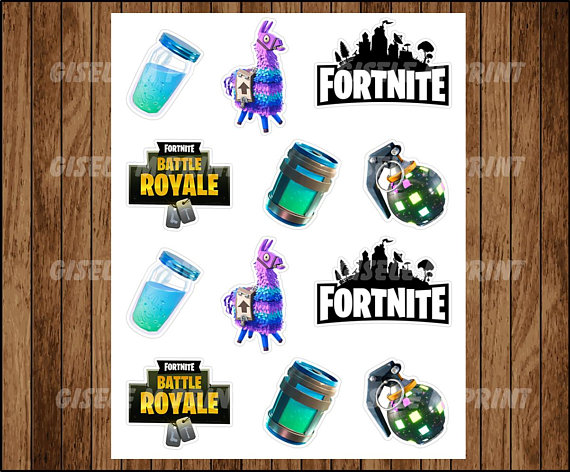 Clipart boogie bomb fortnite image royalty free FORTNITE birthday, Fortnite cupcake toppers, fortnite party, cupcake ... image royalty free