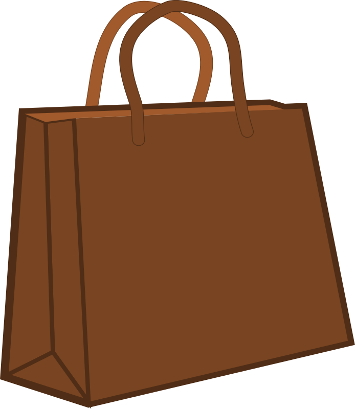Clipart book bag image library download You can use this brown shopping bag clip art on your personal or ... image library download