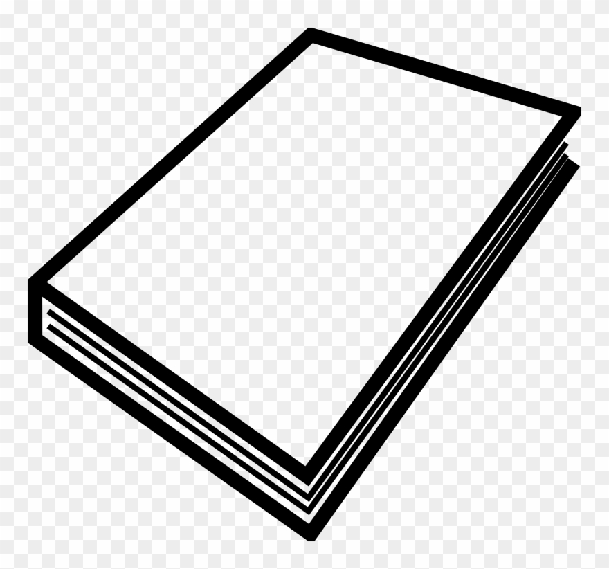 Clipart booklet graphic stock Paper, Book, Stack, Blank, Sheets, White, Booklet - Closed Book Clip ... graphic stock