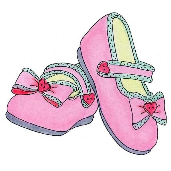 Clipart booties picture royalty free library Pink Baby Booties Free Clipart | Free Images at Clker.com - vector ... picture royalty free library