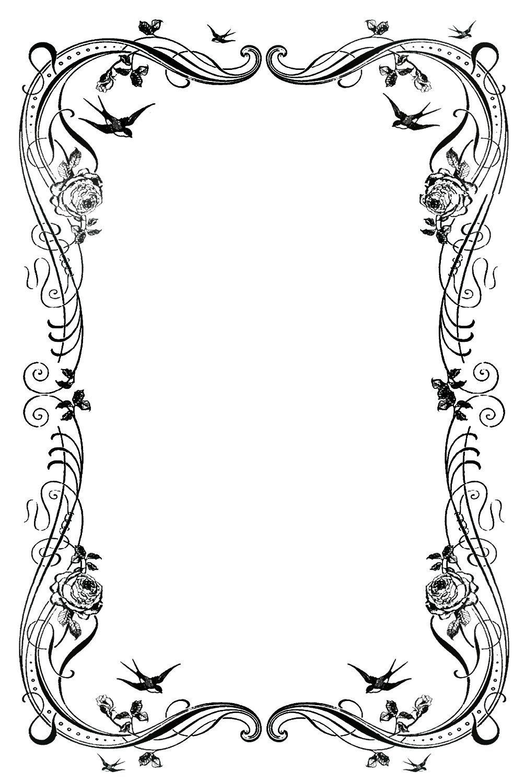 Design clipart hd svg transparent download 19 Decorative Border Designs Images - Free Clip Art Borders, Free ... svg transparent download