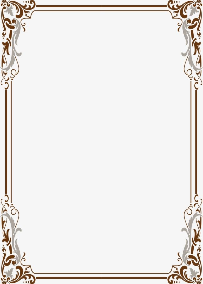 Picture frames clipart download vector royalty free library Wind Pattern Border, Frame, Lace Vector, Classical PNG Transparent ... vector royalty free library