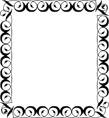 Clipart borders for libreoffice black and white Free borders for openoffice writer black and white
