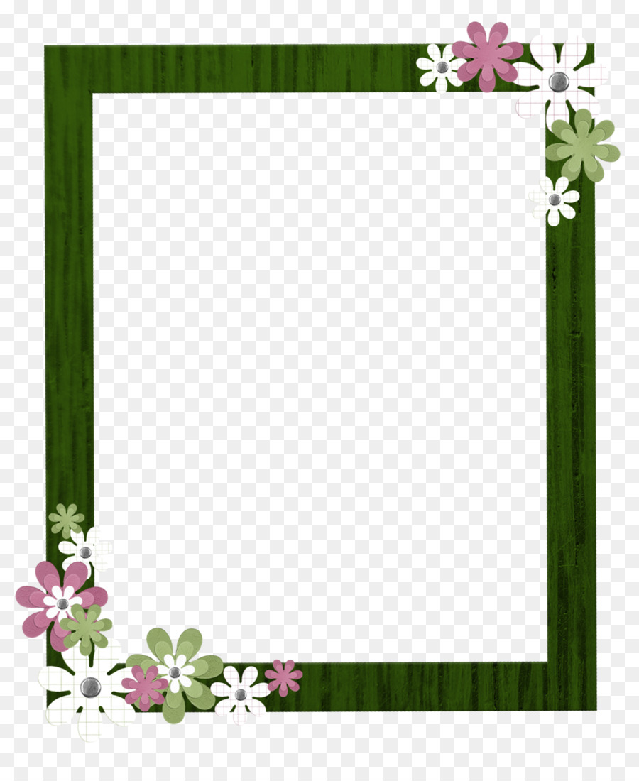 Clipart borders frames download royalty free download Floral Pattern Frame png download - 1222*1474 - Free Transparent ... royalty free download