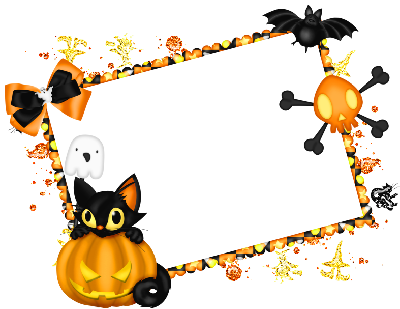 Clipart borders halloween picture free 28+ Collection of Halloween Clipart Borders Png | High quality, free ... picture free