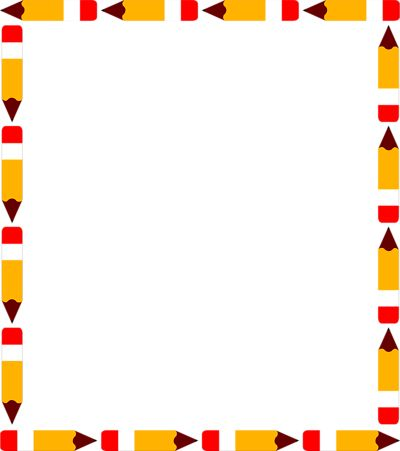 School themed border clipart free stock Best School Clipart Borders #27005 - Clipartion.com free stock