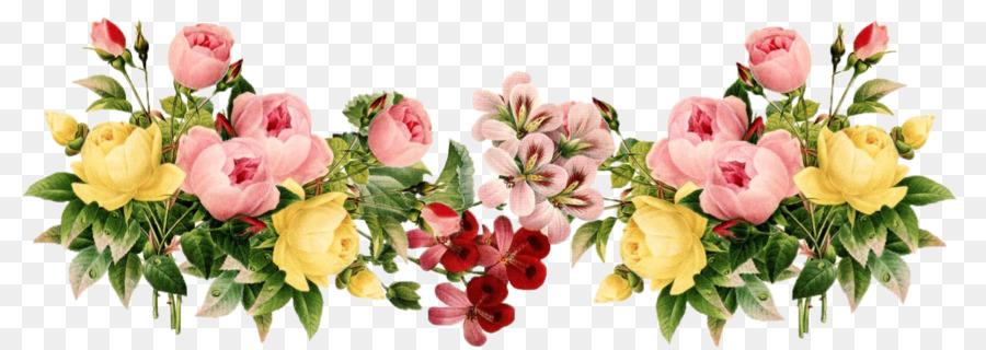 Clipart borders vintage floral