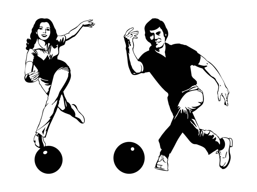Clipart bowler picture library download Free Bowling Silhouettes Cliparts, Download Free Clip Art, Free Clip ... picture library download
