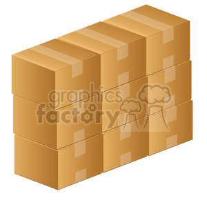Clipart boxes svg freeuse download moving boxes clipart. Royalty-free clipart # 385572 svg freeuse download