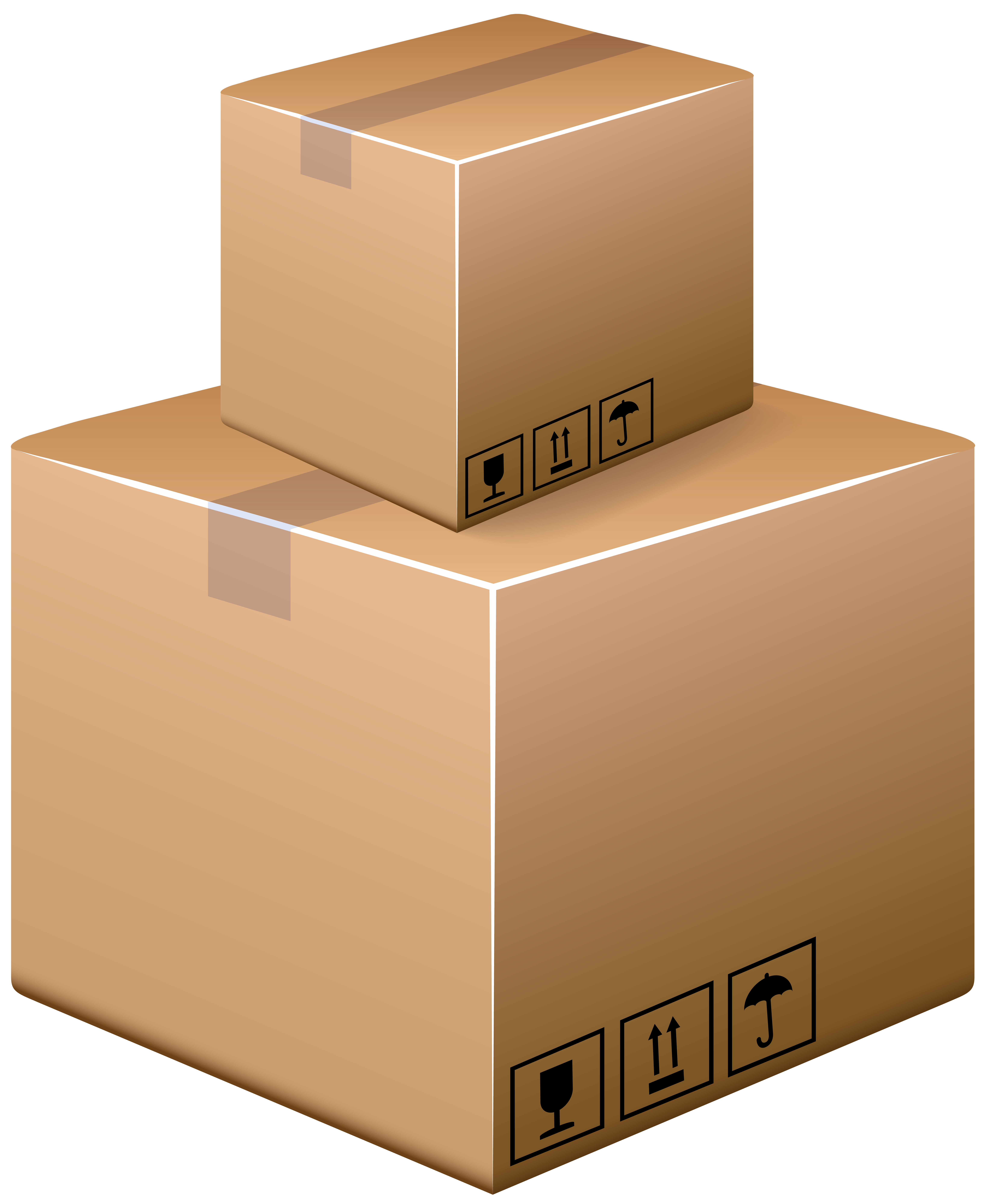 Clipart boxes image transparent library Cardboard Boxes PNG Clip Art - Best WEB Clipart image transparent library