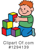 Of royalty free rf. Clipart boy building blocks