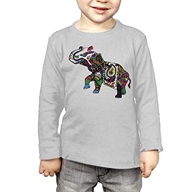 Clipart boy in long sleeve and pants png library download Amazon.com: CERTONGCXTS Little Boys Asian Elephant Clipart Colorful ... png library download