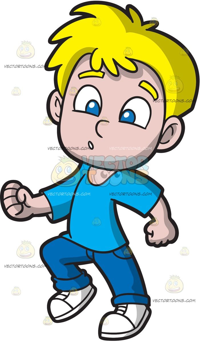 Clipart boy putting on pants graphic free download A Boy Doing The Shuffle Dance: A boy with blonde hair wearing a sky ... graphic free download