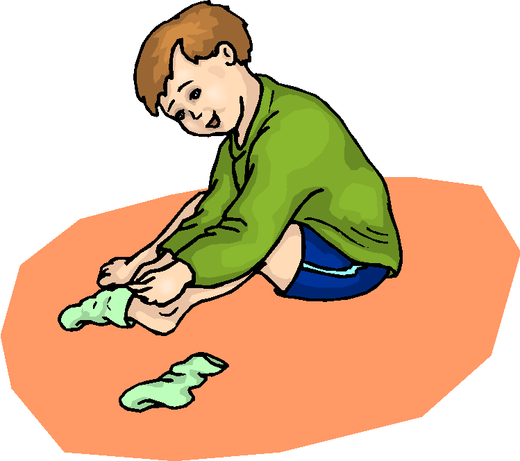 Socks off clipart svg black and white download Boy putting on shoes clipart - Clip Art Library svg black and white download