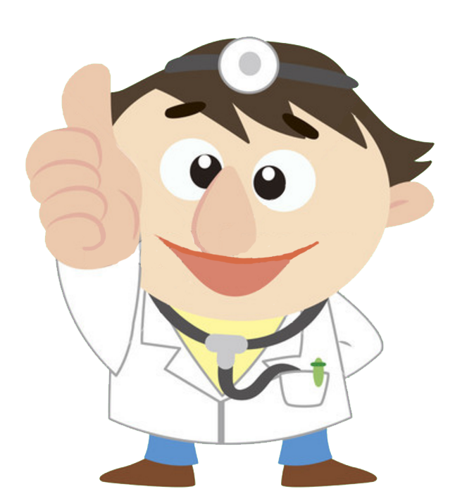 Clipart boy thumbs up jpg free download Cartoon Physician Thumb signal Clip art - Cartoon doctor thumbs up ... jpg free download
