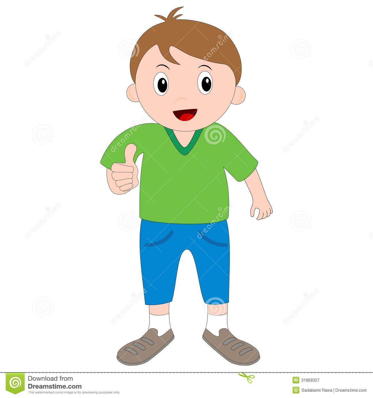 Clipart boy thumbs up picture free stock Boy Thumbs Up Clipart - Clipart Kid picture free stock