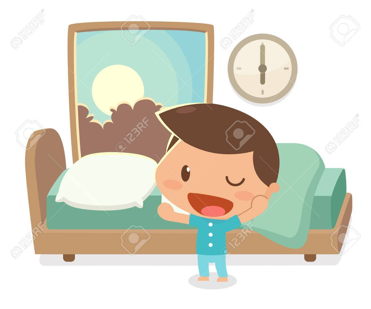 Getting up clipart image free stock Boy waking up clipart 6 » Clipart Portal image free stock