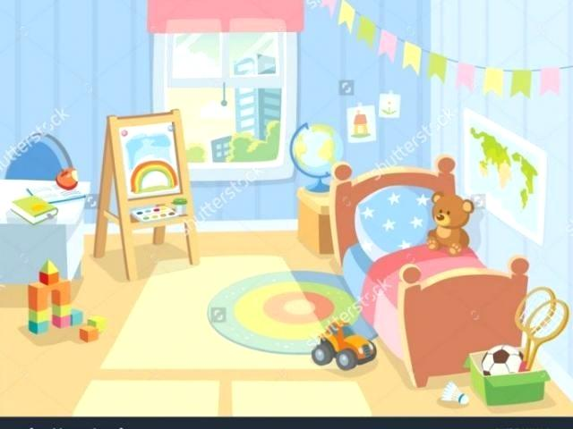 Clipart boys bedroom svg freeuse library bedroom clipart – viewsmarketing.co svg freeuse library