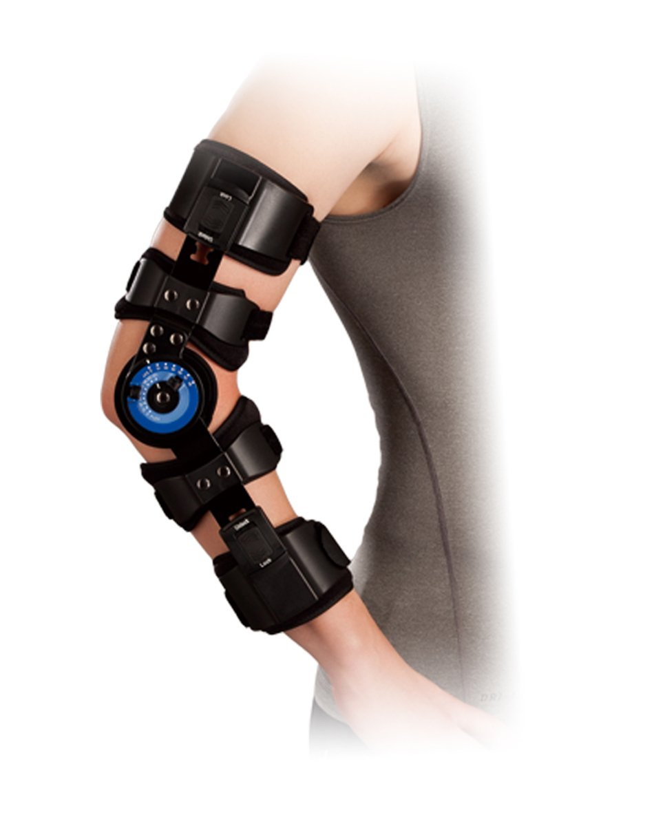 Clipart brace for elbow image library stock Orthomen ROM Hinged Elbow Brace - Support Post Op Injury Recovery (Right.) image library stock