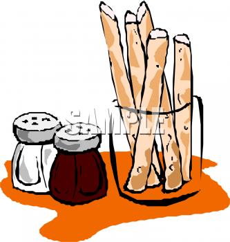 Clipart breadsticks vector free Bread Sticks and Salt and | Clipart Panda - Free Clipart Images vector free