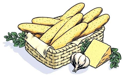 Clipart breadsticks graphic free stock garlic bread clipart – artsoznanie.com graphic free stock