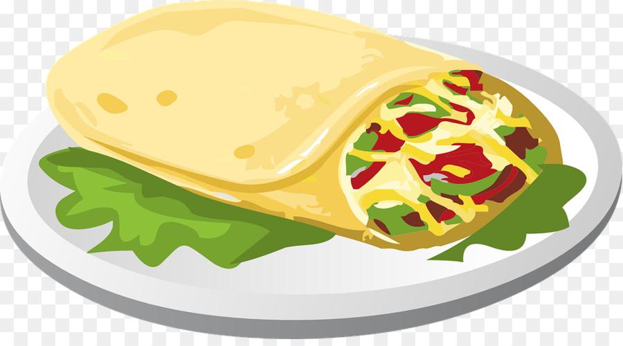Clipart burrito clip royalty free Junk Food Cartoon clipart - Food, transparent clip art clip royalty free