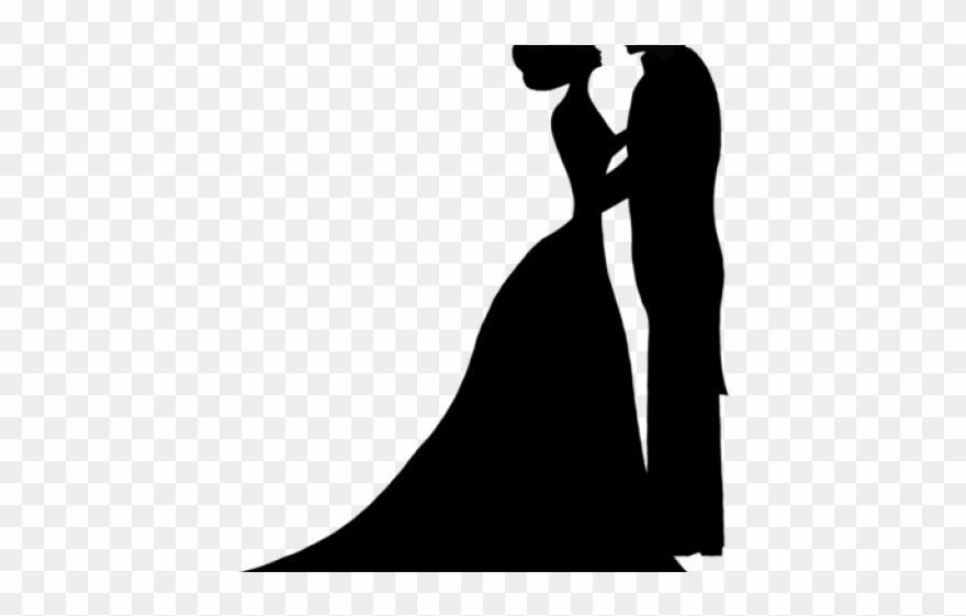 Bride and groom silhouette free clipart clip art free stock Sleeping Beauty Clipart Bride Groom Silhouette Wedding - Wedding ... clip art free stock