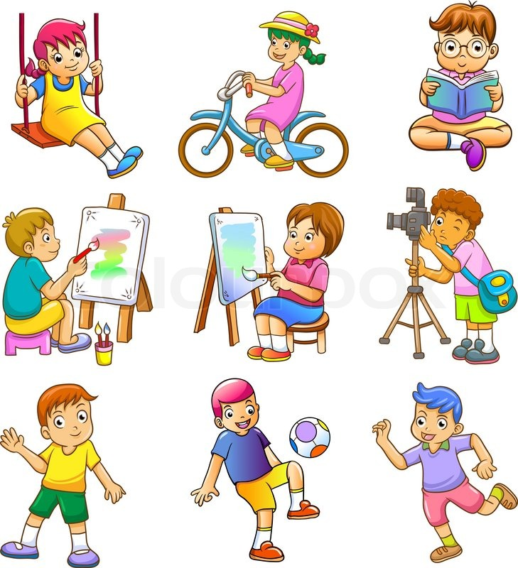 Clipart brn der leger picture freeuse stock Clipart børn der leger - ClipartFox picture freeuse stock