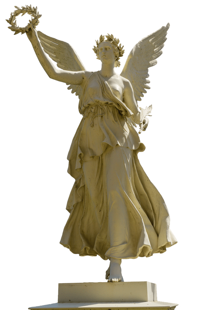 Clipart brons crown clipart royalty free library Statue Woman Holding Crown transparent PNG - StickPNG clipart royalty free library