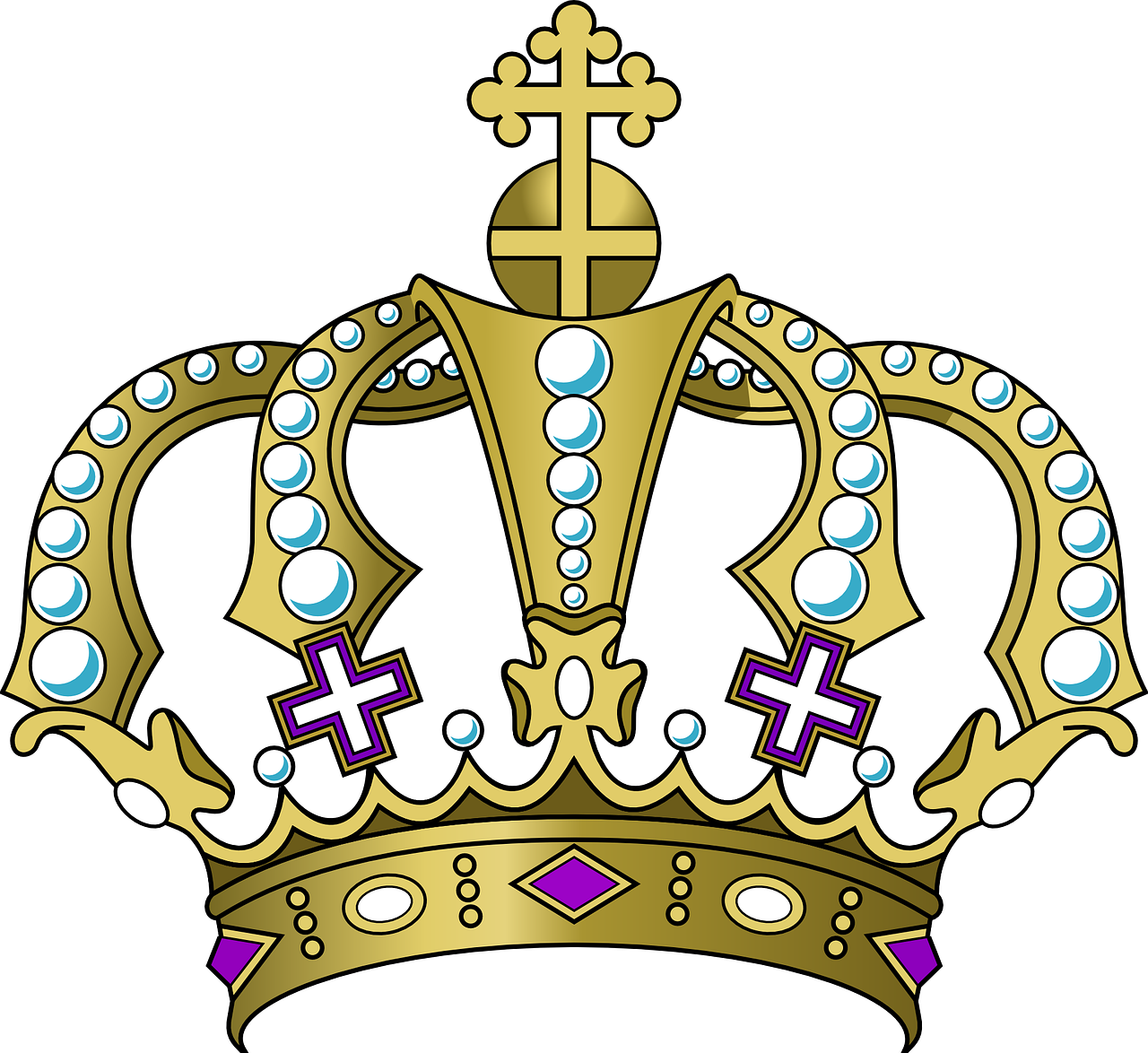 Clipart brons crown clip transparent Crown King Royal Prince History PNG Image - Picpng clip transparent