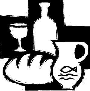 Clipart brot und wein clip art free library Pfarrbrief | Gemeindebrief | 09565 | 5 | Brot und Wein | image online clip art free library