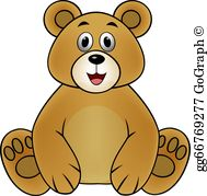 Clipart brown bear clip art freeuse stock Brown Bear Clip Art - Royalty Free - GoGraph clip art freeuse stock