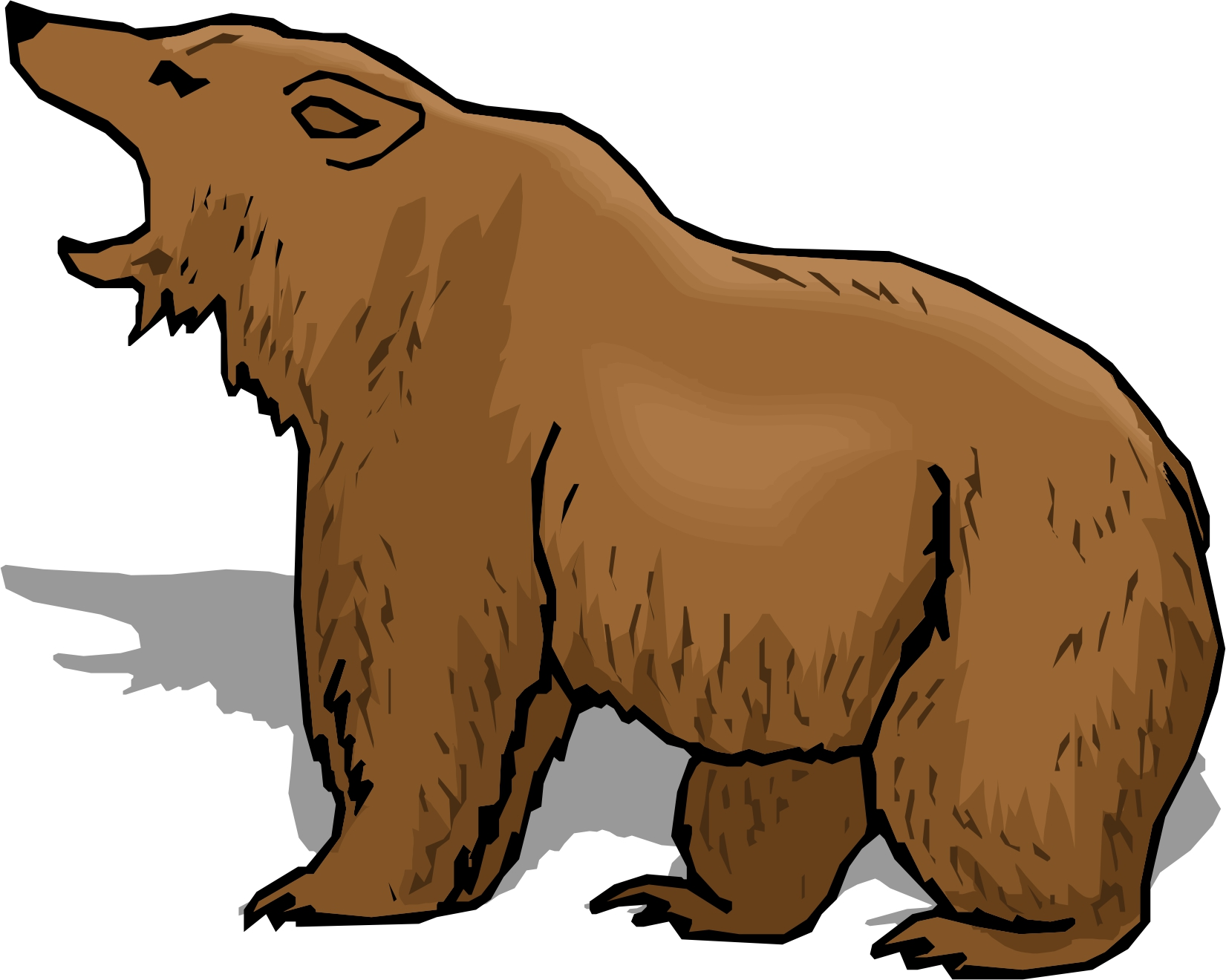 Clipart brown bear royalty free stock Free Cartoon Brown Bear, Download Free Clip Art, Free Clip Art on ... royalty free stock