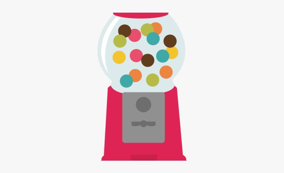 Clipart bubble gum machine png Gumball Clipart Svg - Bubble Gum Machine Png #1059036 - Free ... png
