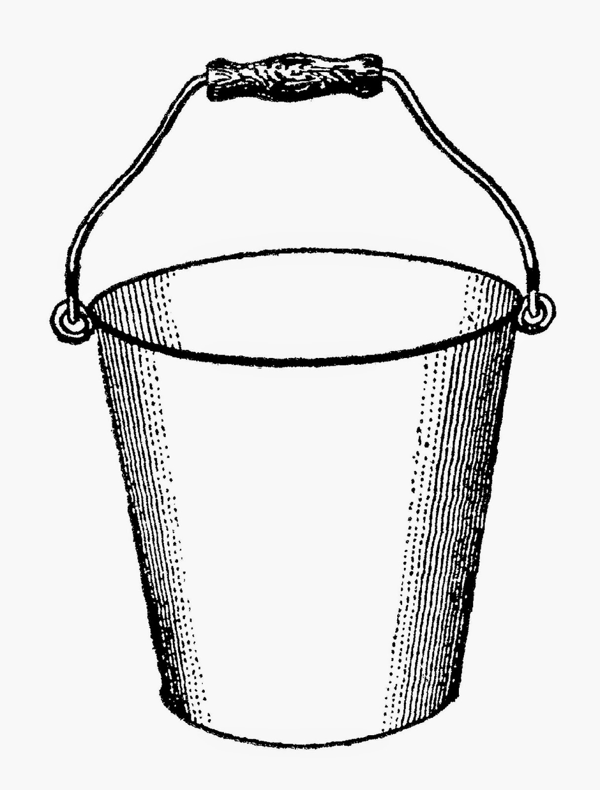 Clipart bucketnpouring water black and white transparent Free Water Bucket Cliparts, Download Free Clip Art, Free Clip Art on ... transparent