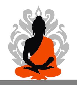Clipart buddha jpg black and white stock Clipart Buddha | Free Images at Clker.com - vector clip art online ... jpg black and white stock