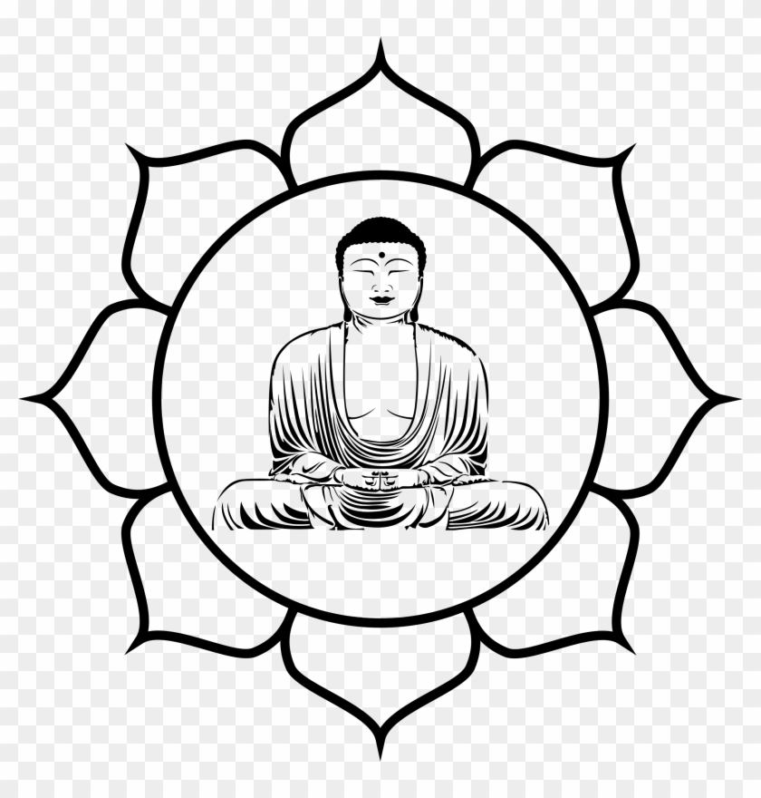 Clipart buddha png library download Clipart Transparent Library Buddha Head Clipart - Clip Art Buddha ... png library download