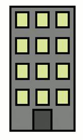 Clipart building. Apartment clip art block