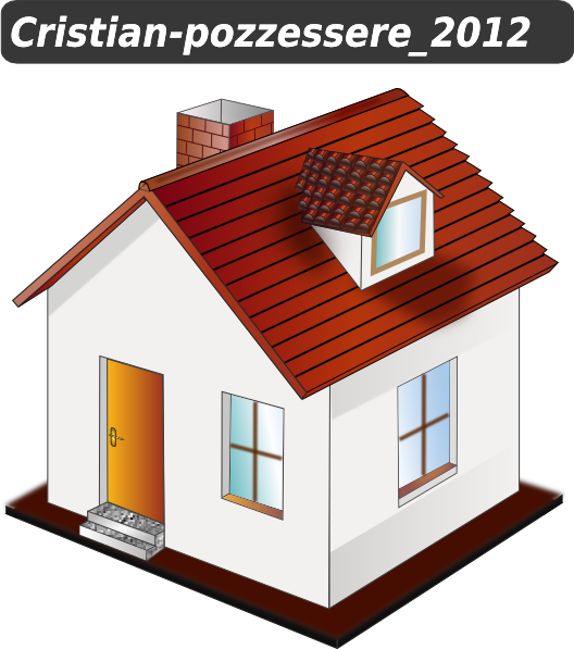 House with windows clipart picture transparent library House With Yellow Clip Art at Clker.com - vector clip art online ... picture transparent library