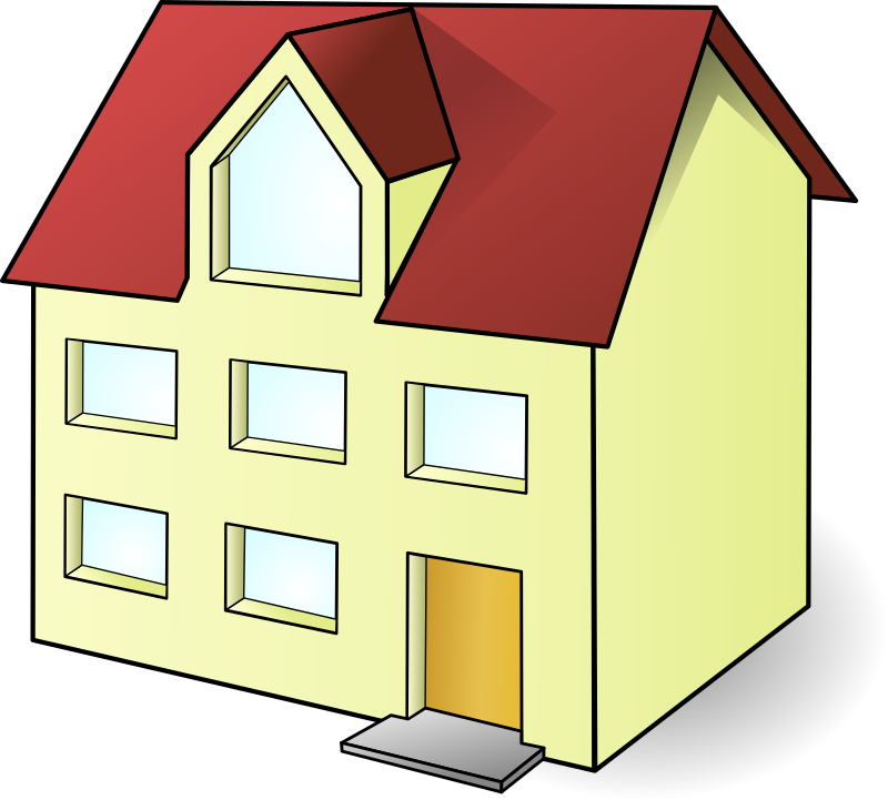 Clipart building a house png library Clipart - house christoph brill 01 png library