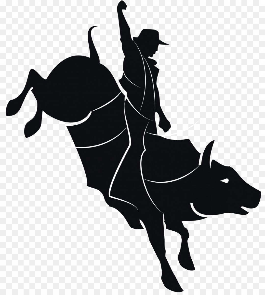 Library of clip art royalty free bull rider png files ...