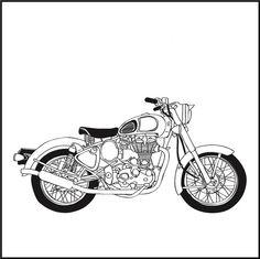 Clipart bullet bike svg transparent stock 13 Best Bullet images in 2018 | Enfield motorcycle, Motorcycles ... svg transparent stock