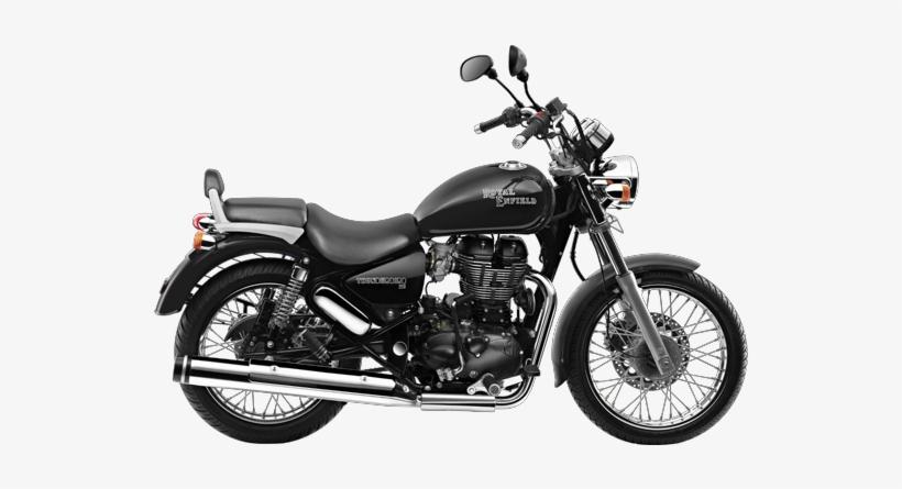 Clipart bullet bike vector freeuse Motorcycle Clipart Bullet Bike - Royal Enfield Thunderbird 350 Black ... vector freeuse