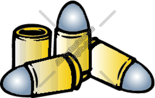 Clipart bullets jpg library download Bullets Clipart and Vectorart: Weapons - Guns Vectorart and ... jpg library download