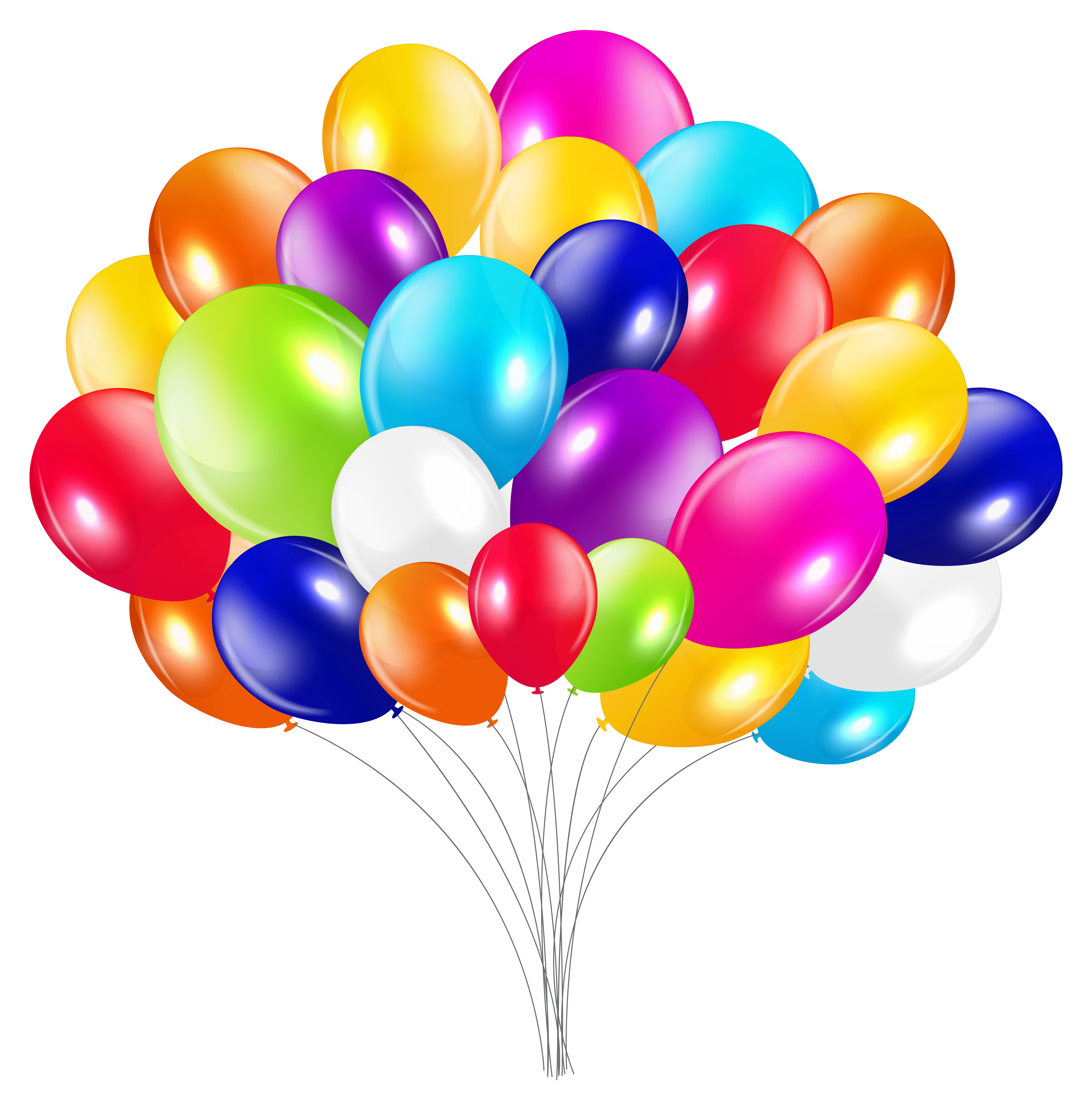Clipart bunch of balloons svg black and white Bunch of Balloons PNG Clipart Image | Gallery Yopriceville - High ... svg black and white