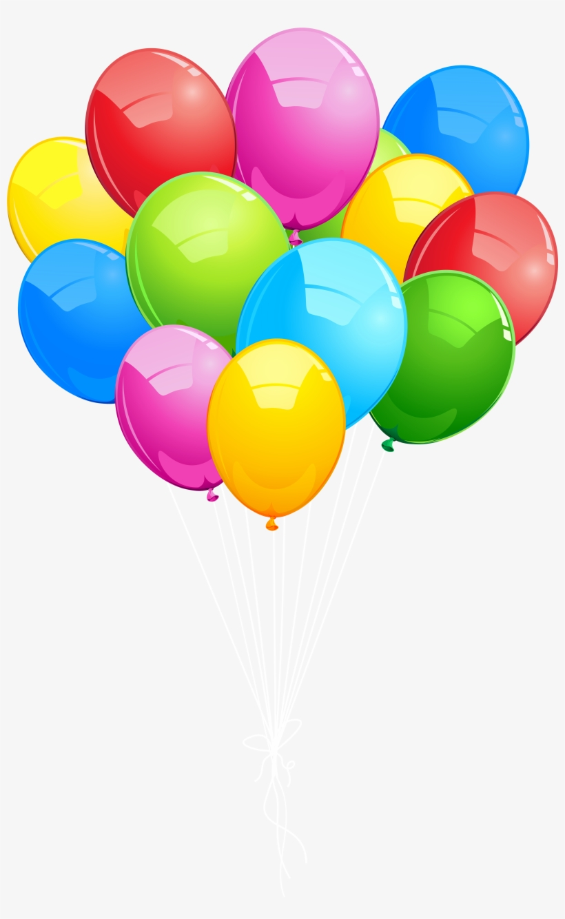 Clipart bunch of balloons png free download Ballon Clipart Balloon Bunch - Bunch Of Balloons Png - Free ... png free download