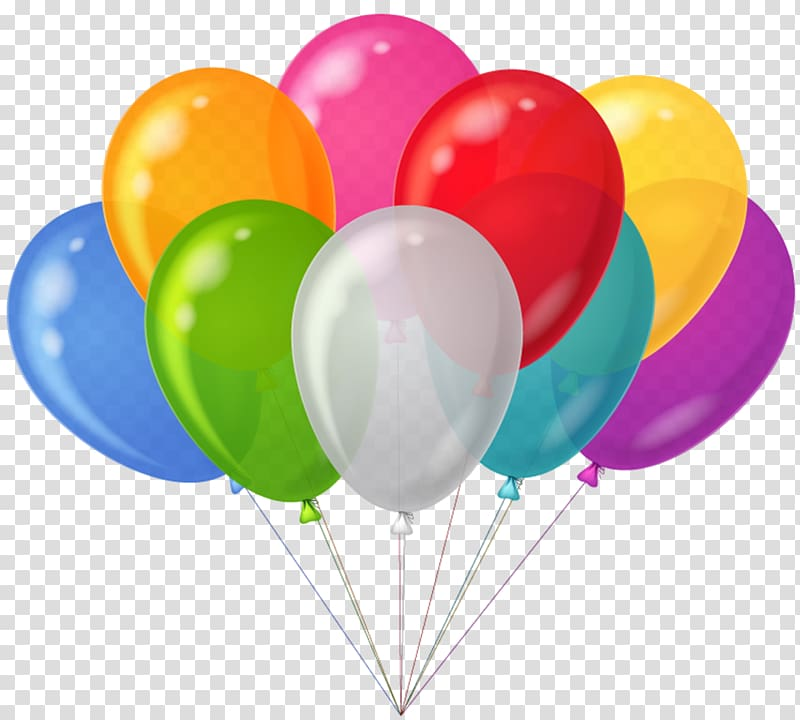 Clipart bunch of balloons svg black and white download Balloon Party , Bunch Colorful Balloons , assorted-color balloons ... svg black and white download